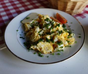 Frühstück im Kirchenwirt in Wien