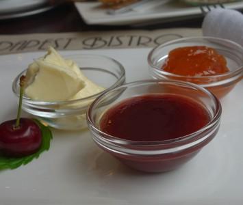 Frühstück im Budapest Bistro in Wien