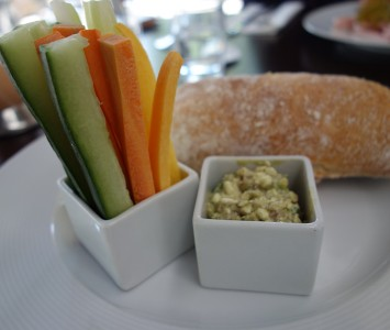 Frühstück im Daniel Moser's Cottage in Wien