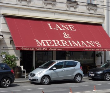 Frühstück im Lane & Merriman's in Wien