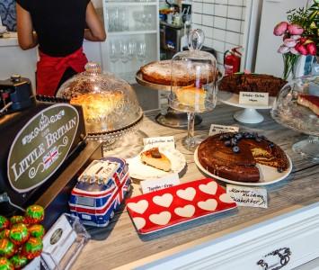 Frühstück im Little Britain in Wien