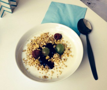 Frühstück im Allergiker Café in Wien