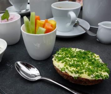 Frühstück im Hermes in Wien