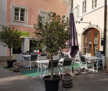 Frühstück im The Green Garden in Salzburg