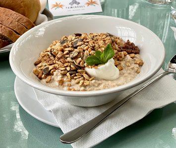 Frühstück im Palmenhaus in Wien