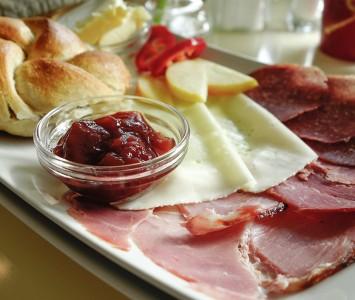Frühstück im Salon am Park in Wien