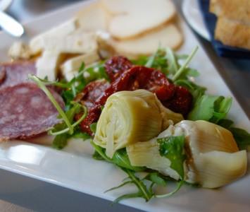 Frühstück im Radlager in Wien