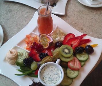 Frühstück im Café Fingerlos in Salzburg