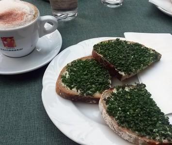 Gartencafé - Frühstücken in Wien