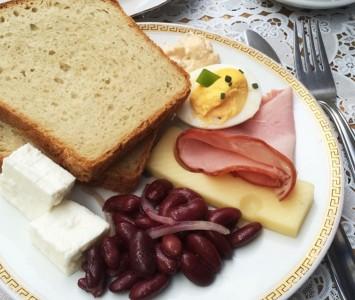 Vollpension - Frühstücken in Wien
