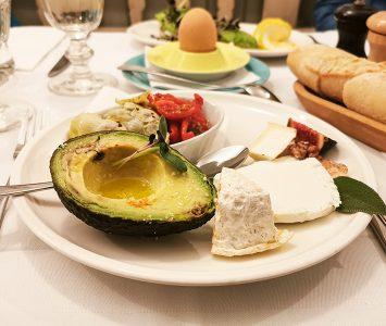 Frühstück im Beaulieu in Wien