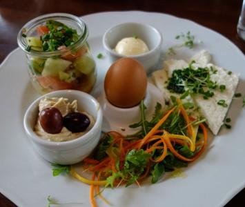 Frühstück im Corbaci in Wien