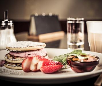 Frühstück in der Scherbe in Graz