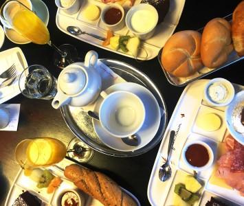 Frühstück im Freiraum in Wien