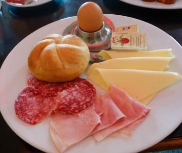 Frühstück im Top Kino in Wien