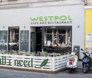 Frühstück im Westpol in Wien