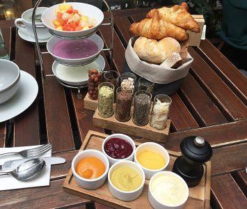 Frühstück im Tian Bistro in Wien