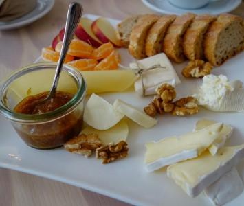 Frühstück im Cocoquadrat in Wien