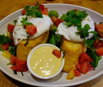 Frühstück im Erich in Wien