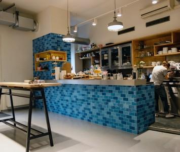 Frühstück in der Guerilla Bakery in Wien