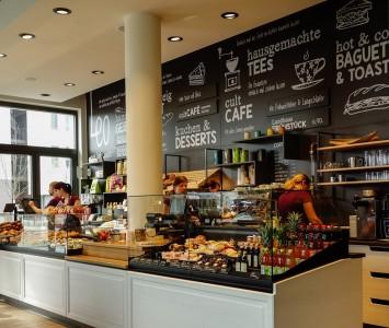 Frühstück im Leo Aspern in Wien