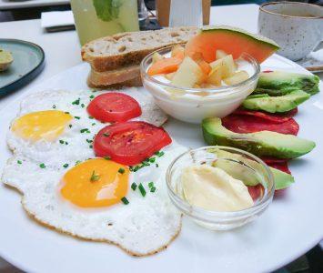 Frühstück im Velobis in Wien