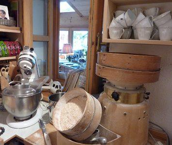 Mehl aus der eigenen Mühle
