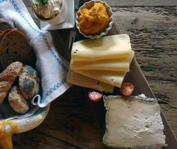 Käse, Aufstriche & Gemüse