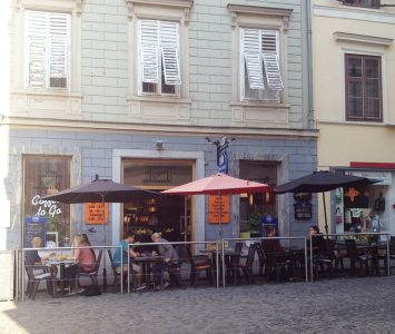 Frühstück im Café Trailer in Graz