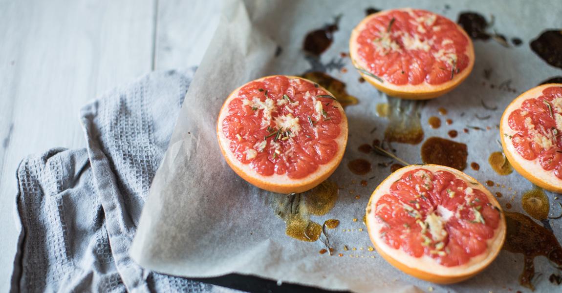 Grapfruit aus dem Ofen von Berries & Passion