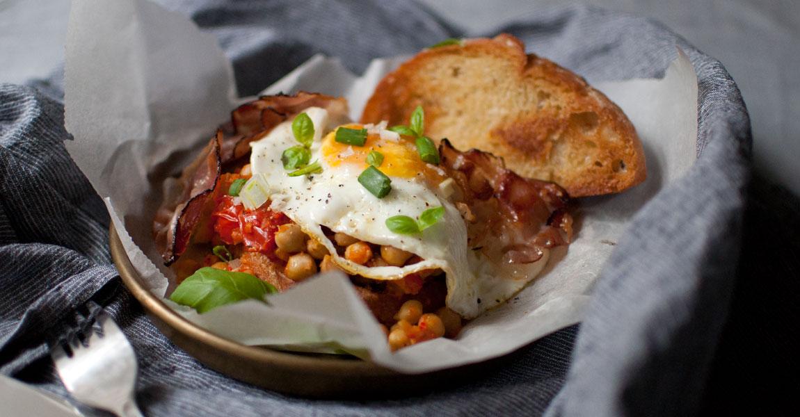 Kichererbsen-Frühstück von When Anna cooks