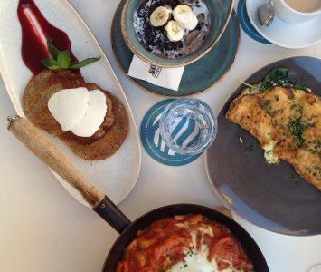 Frühstück im Mangold in Graz