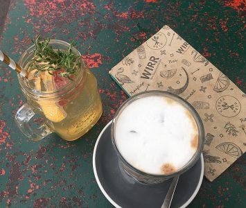 Frühstück im Wirr am Brunnenmarkt in Wien