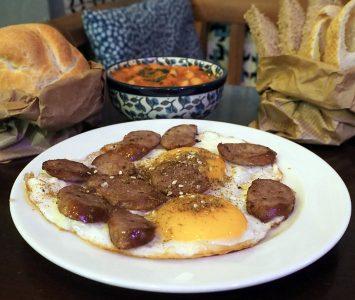 Frühstück im Der Fuchs und die Trauben in Wien