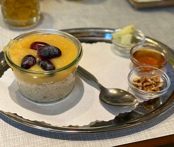 Frühstück in der Vollpension in Wien