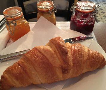 Frühstück im La Mercerie in Wien