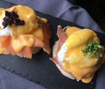 Frühstück im Connolly's in Wien