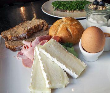 Frühstück im aumann in Wien