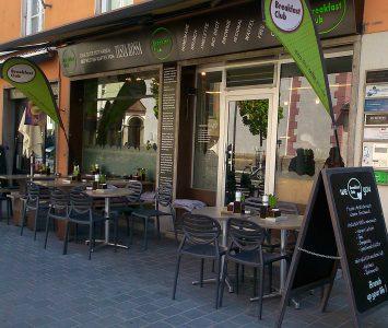 Frühstück im Breakfast Club in Innsbruck