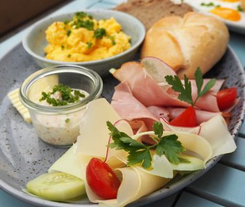 Frühstück in der R&Bar in Wien