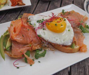 Frühstück im Café Schubert in St. Pölten
