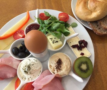 Frühstück im Ducks Coffeeshop in Graz