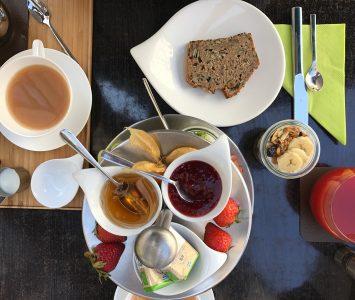 Frühstück im Madame Wu in Linz