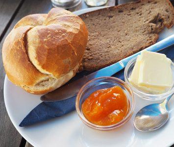 Frühstück in der Melangerie in Wien