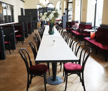 Frühstück im rien in Wien