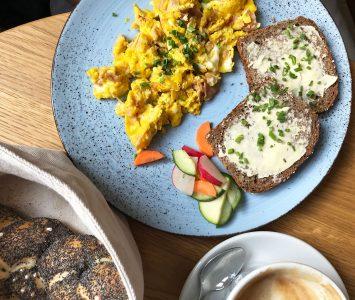 Frühstück in der Bohne in Linz