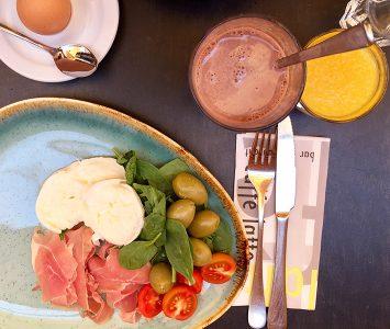 Frühstück im Caffè Latte in Wien