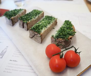 Frühstück im Designo in Wien