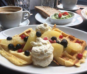 Frühstück im Pastis in Graz