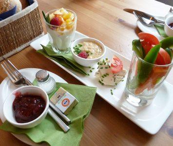 Frühstück im Café Kurkuma in Hallein